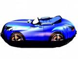Машинка Голубая