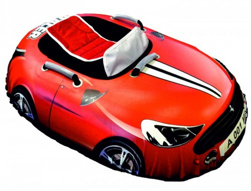 Машинка Красная